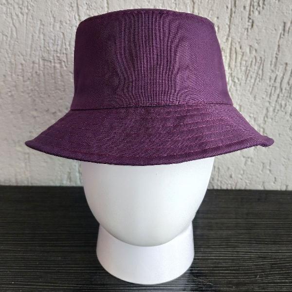 Purple rain bucket hat unissex roxo