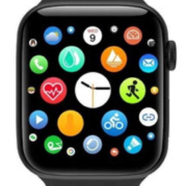 Smartwacth iwo max 2.0 relógio inteligente 9 watch faces