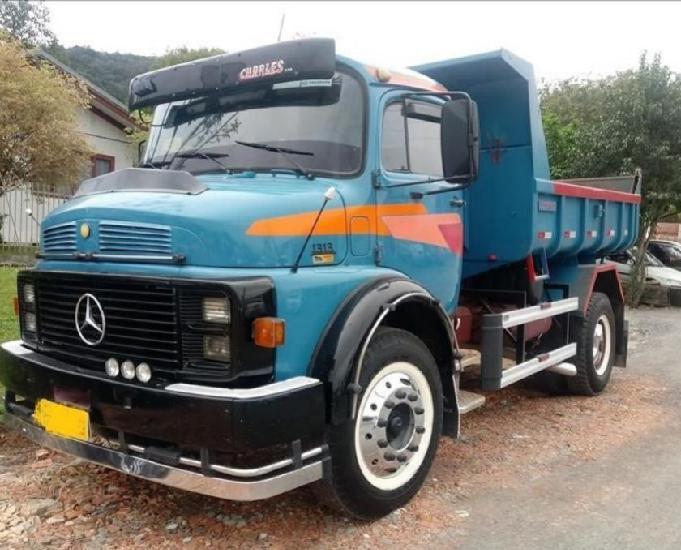 Caminhão mb 1313 ano 1980 turbo direção reduzida