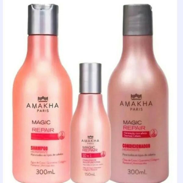 Kit shampoo hidratante condicionador hidratante e
