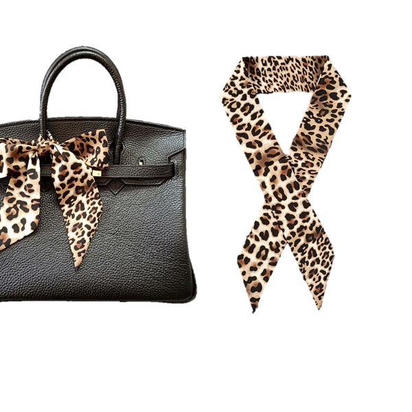 Lenço tiara faixa laço animal print onça moda feminino