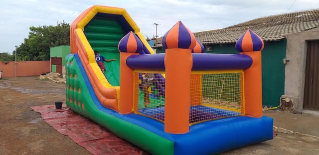 Brinquedos para recreação e festas infantis