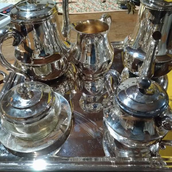 Conjunto para chá/ café - prataria wolff nunca usado