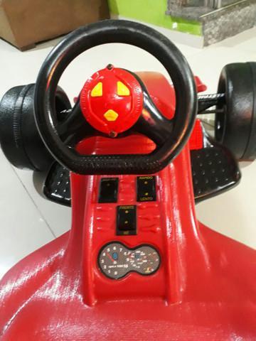 Carro elétrico infantil (fórmula 1)