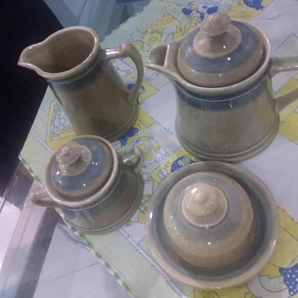 Jogo p/ chá e café porcelana távola real schmidt