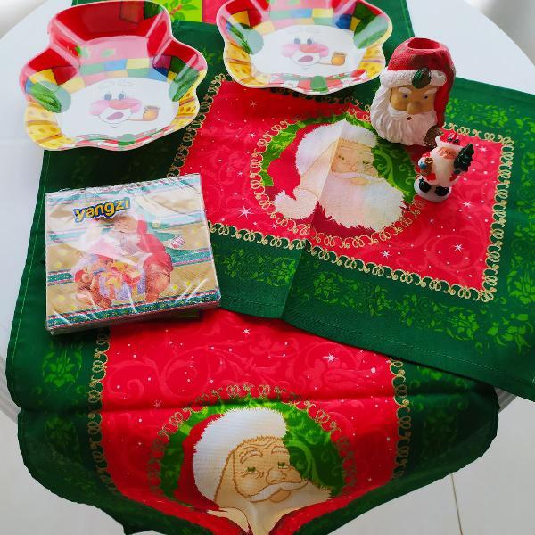 Mesa natal decorada ! ( 7 peças )