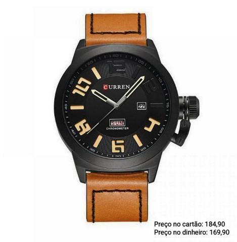 Relógio masculino importado original curren