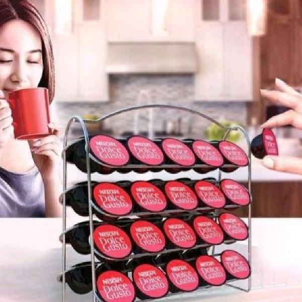 Suporte cápsulas café dolce gusto