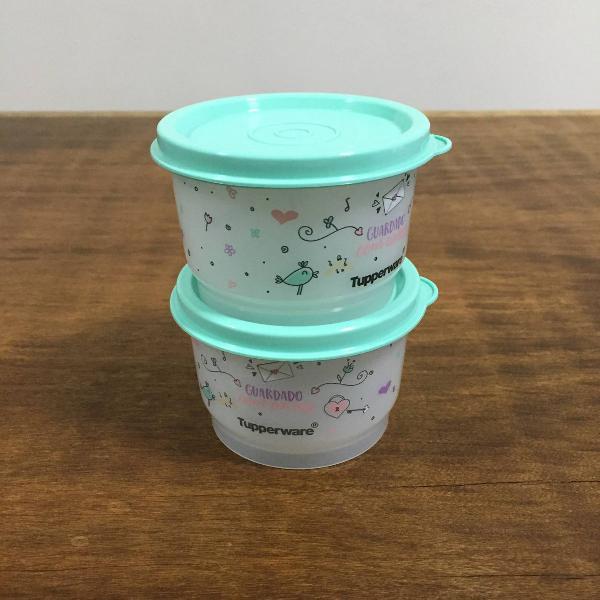 Tupperware kit potinho guardado com amor - 140 ml, 140 ml