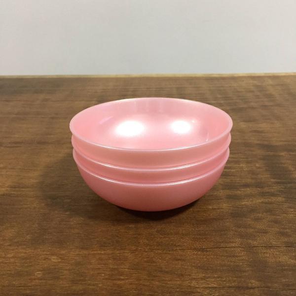 Tupperware kit tigela allegra rose - 250 ml, 250 ml, 250 ml