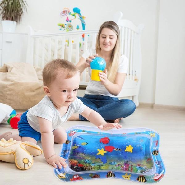 Tapete aquatico para seu bebe tamanhp 66 x 50 (novo)