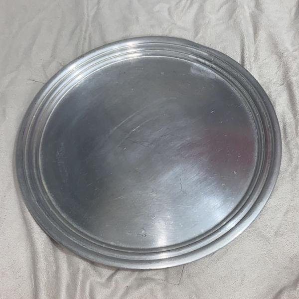 Bandeja de alumínio redonda