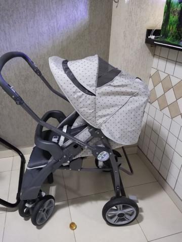 Carrinho de bebê burigotto euro 6 peg pérego - semi novo.