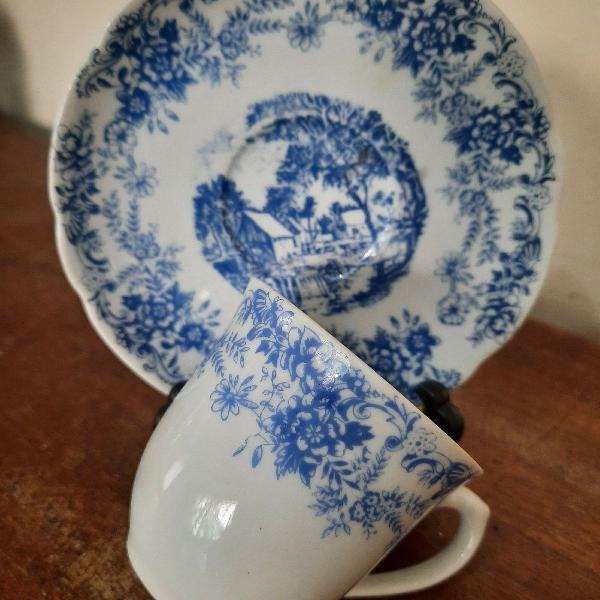 Xicara café porcelana real são paulo