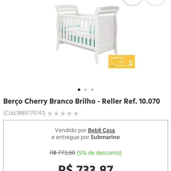 Berço/ mini cama - cherry reller