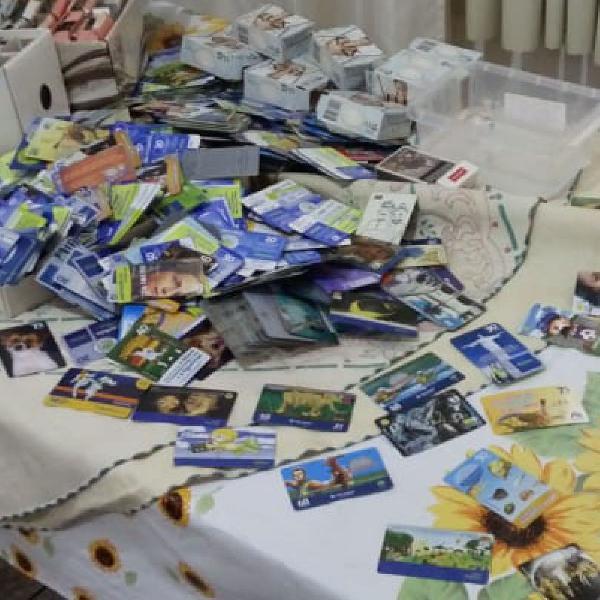 Cartões telefônicos antigos para colecionadores