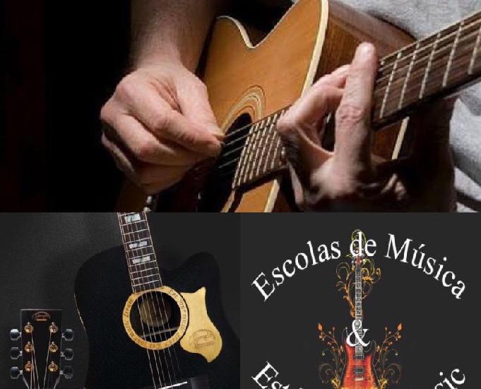 Curso de violão com tecnicas especificas na zona leste!