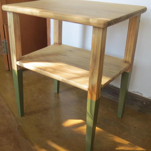 Mesa apoio madeira