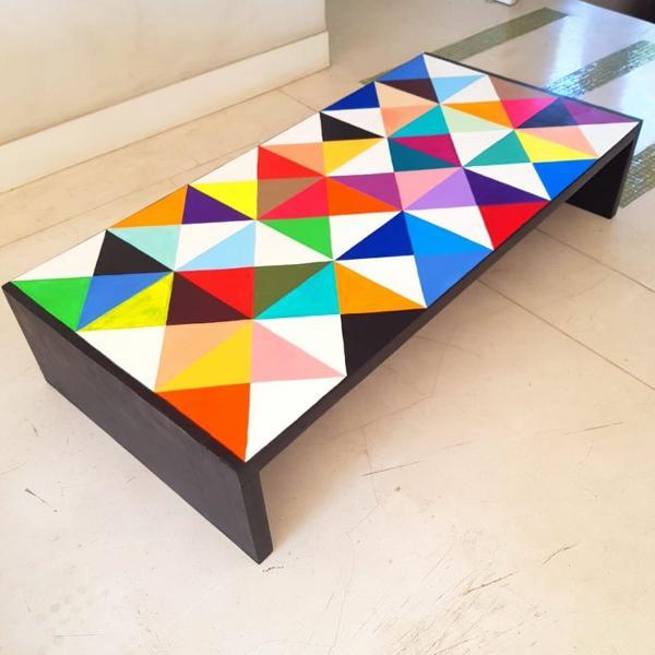 Mesa de centro madeira nobre