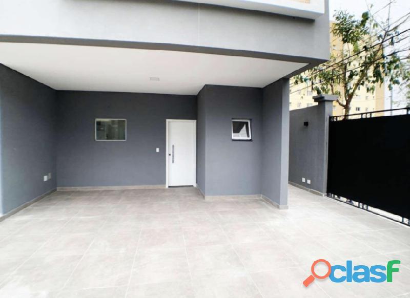 Sobrado 3 dormitórios 168 m² no bairro campestre   santo andré.