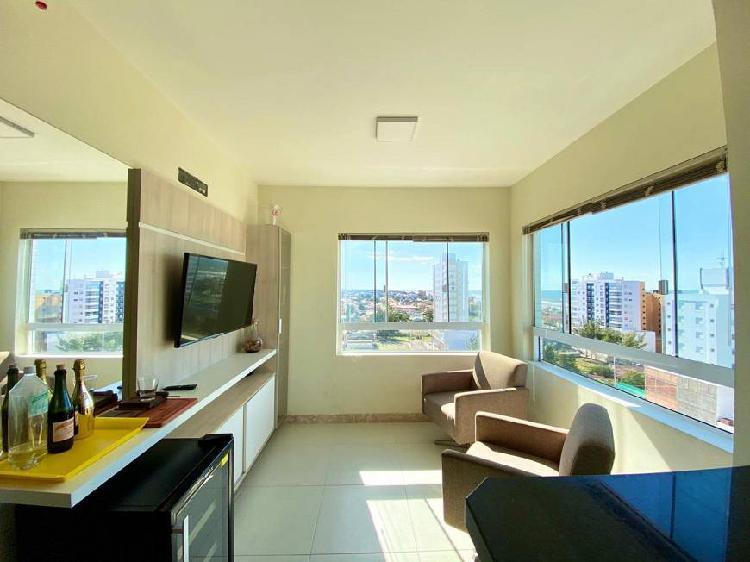 Apartamento com vista para o mar , sendo dois dormitórios