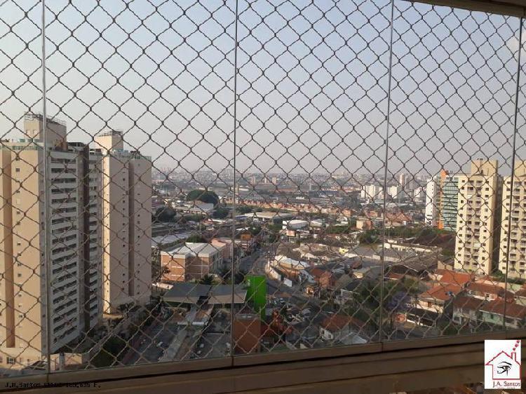 Apartamento para venda em santo andré, bairro campestre, 3
