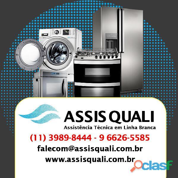 Assisquali   assistência técnica (geladeira, side by side, duplex, french door), (fogão,