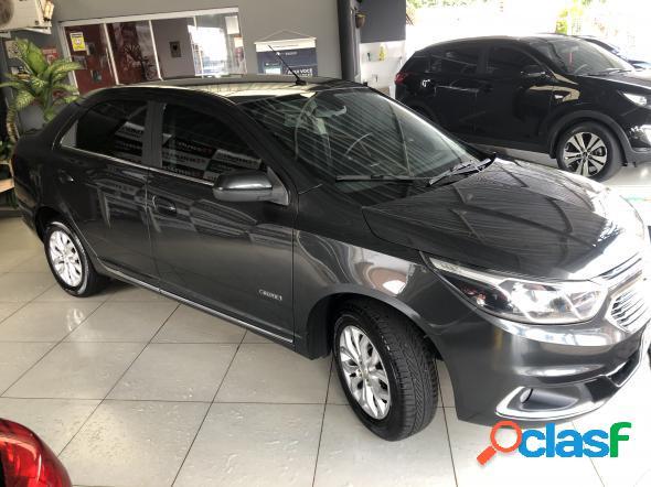 Chevrolet cobalt elite 1.8 8v econo.flex 4p aut. cinza 2016 1.8 flex
