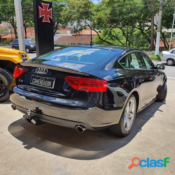 Audi a5 sportback 1.8 tfsi 170cv multi. preto 2015 1.8 gasolina