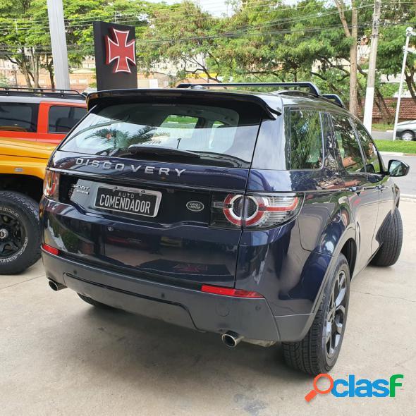 Land rover discovery sport hse 2.0 4x4 aut flex azul 2015 2.0 gasolina