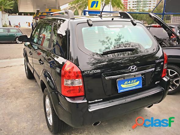 Hyundai tucson 2.7 mpfi 24v 175cv aut. preto 2009 2.7 v6 gasolina