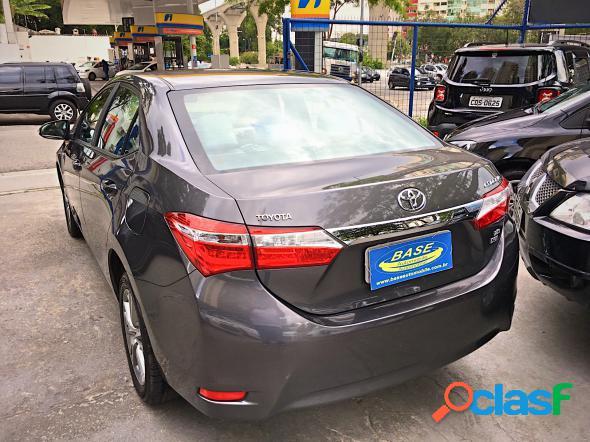 Toyota corolla xei 2.0 flex 16v aut. cinza 2015 2.0 16v flex