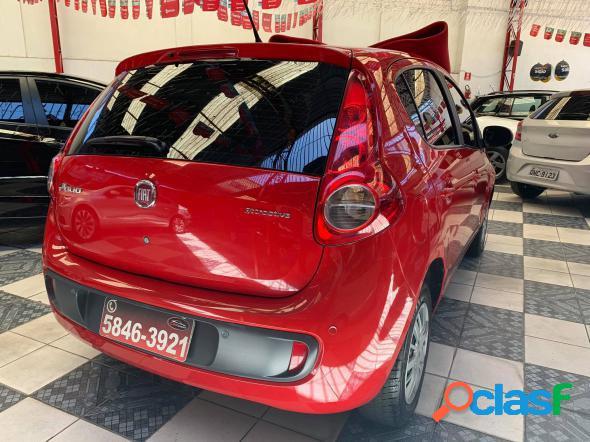 FIAT PALIO ATTRACTIVE 1.0 EVO FIRE FLEX 8V 5P VERMELHO 2014 1.0 FLEX 1