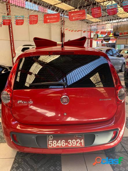 FIAT PALIO ATTRACTIVE 1.0 EVO FIRE FLEX 8V 5P VERMELHO 2014 1.0 FLEX 2