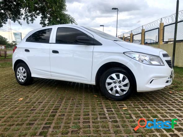 Chevrolet onix hatch ls 1.0 8v flexpower 5p mec. branco 2015 1.0 flex