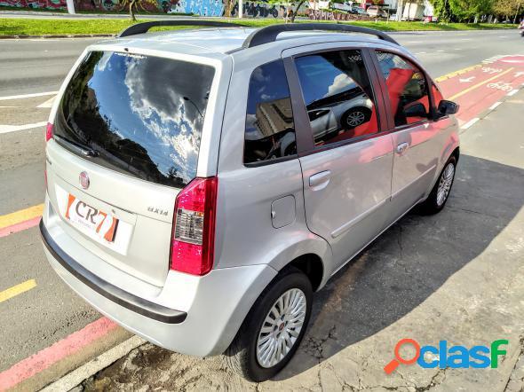 Fiat idea elx 1.4 mpi fire flex 8v 5p prata 2009 1.4 flex