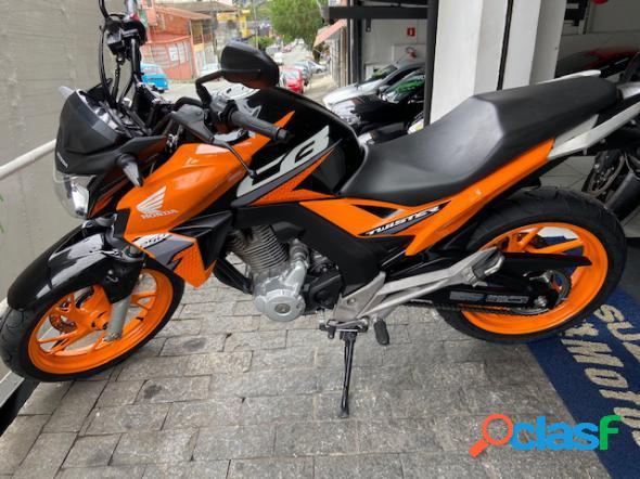 Honda cb 250f twister cbs laranja 2019 250 flex