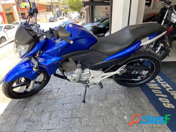 Honda cb 300r azul 2012 300 gasolina