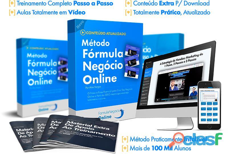 Treinamento fórmula negócio online