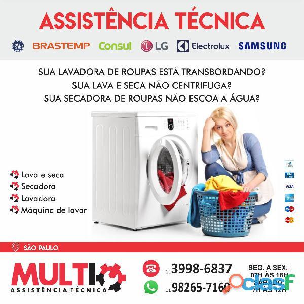 Assistência para lavadora de roupas em São Paulo
