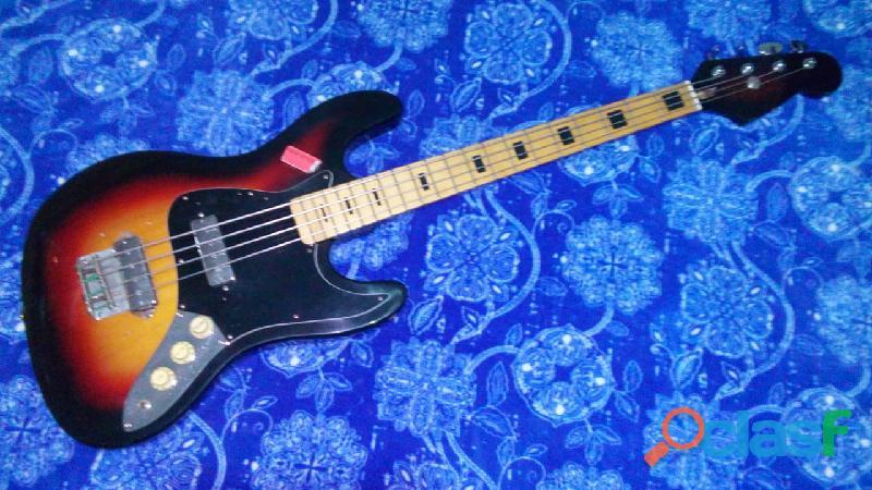Contra baixo vintage encore japan 1970's claudio 11 96369 5708