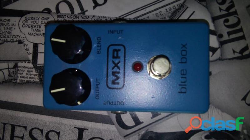 Pedal de guitarra mxr blue box jimmy page claudio 11 96369 5708