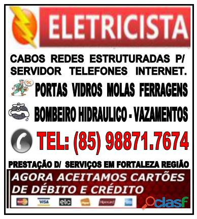Eletricista 24hs (85) 98871.7674
