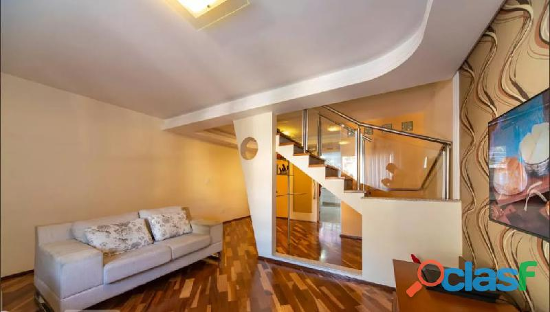 Sobrado 3 dormitórios 174 m² no jardim bela vista   santo andré.