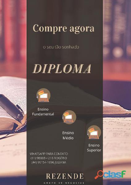 Comprar diploma / diploma ensino medio