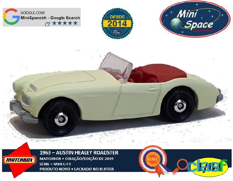 Matchbox 1963 austin healey roadster 1/64