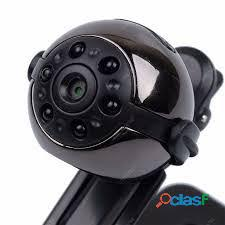 Mini câmera espiã visão noturna sq9 full hd 1080p