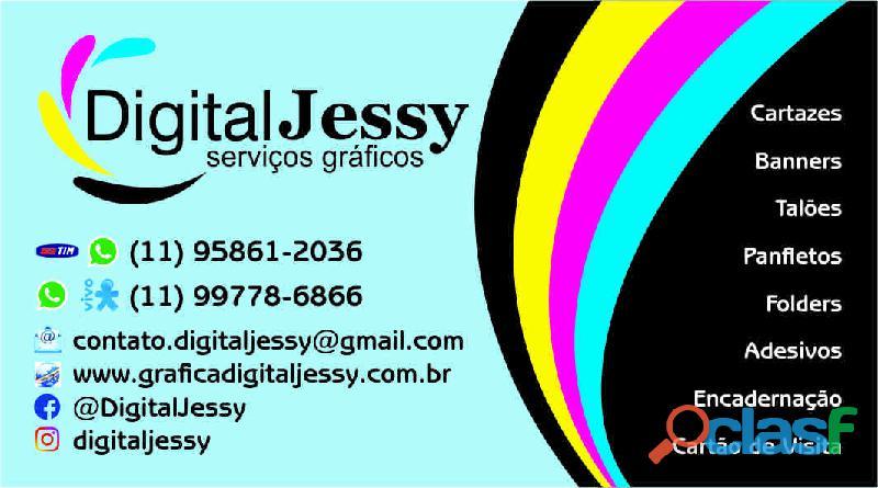Gráfica digital jessy serviços gráficos   http://www.graficadigitaljessy.com.br/
