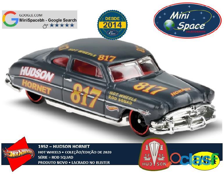 Hot wheels 1952 hudson hornet cor cinza 1/64