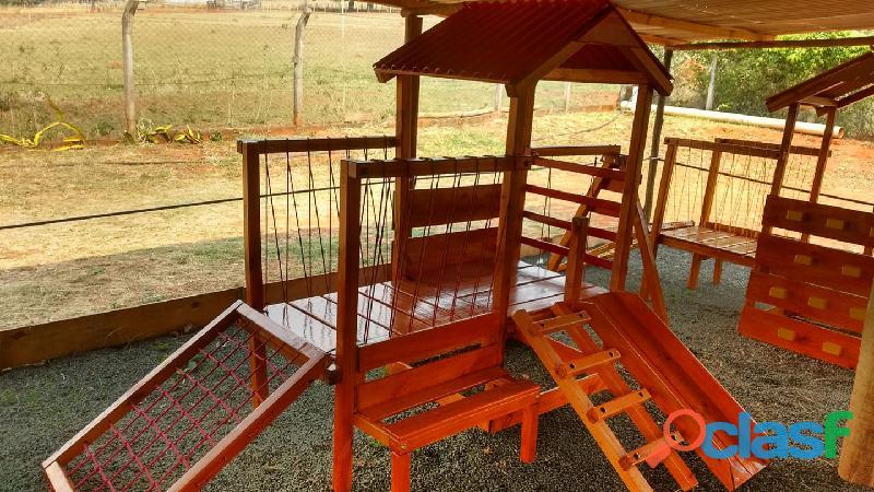 parquinho ( playground infantil de madeira ) 2